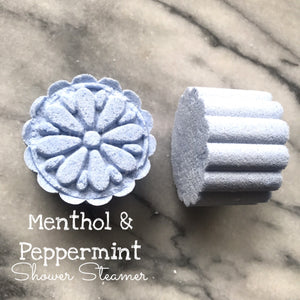 Menthol & Peppermint Shower Steamer