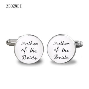 2018 Father of the Bride Cufflinks Father of the Bride Cufflinks I will be your little girl shirt clothing accessory jewelry