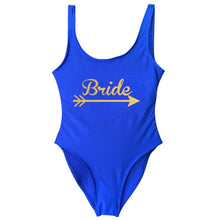 Load image into Gallery viewer, Bride Tribe Women One Piece Swimsuit