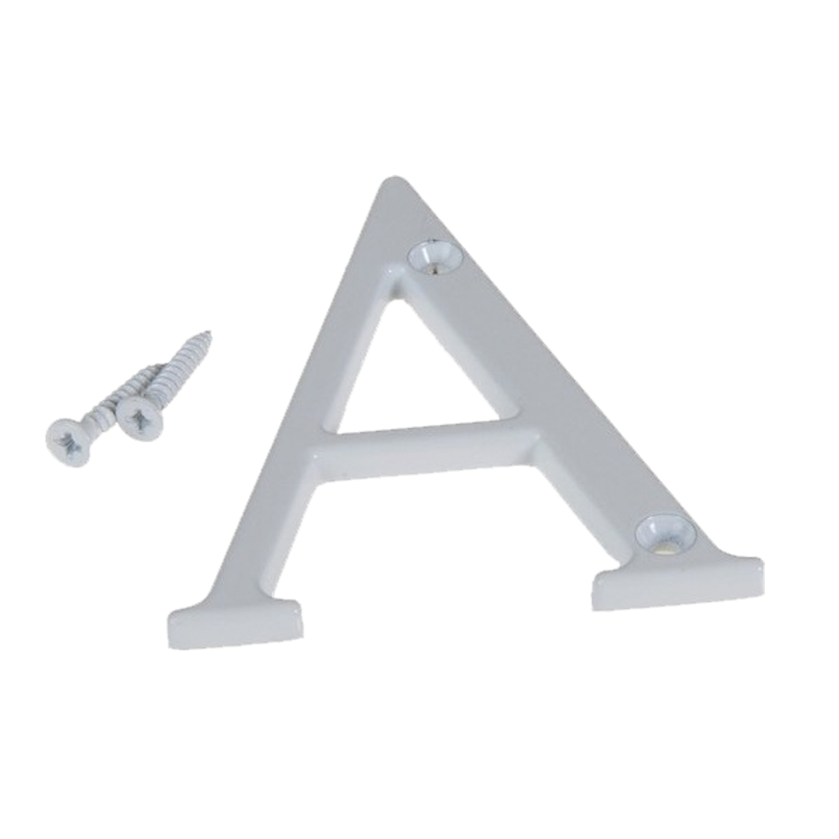 Fab & Fix Door Letter ('A' | White)