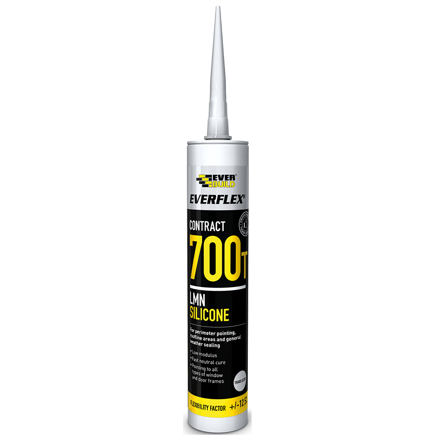 Everflex Silicone 700T (300ml | Black) - Horizon Plastics Online