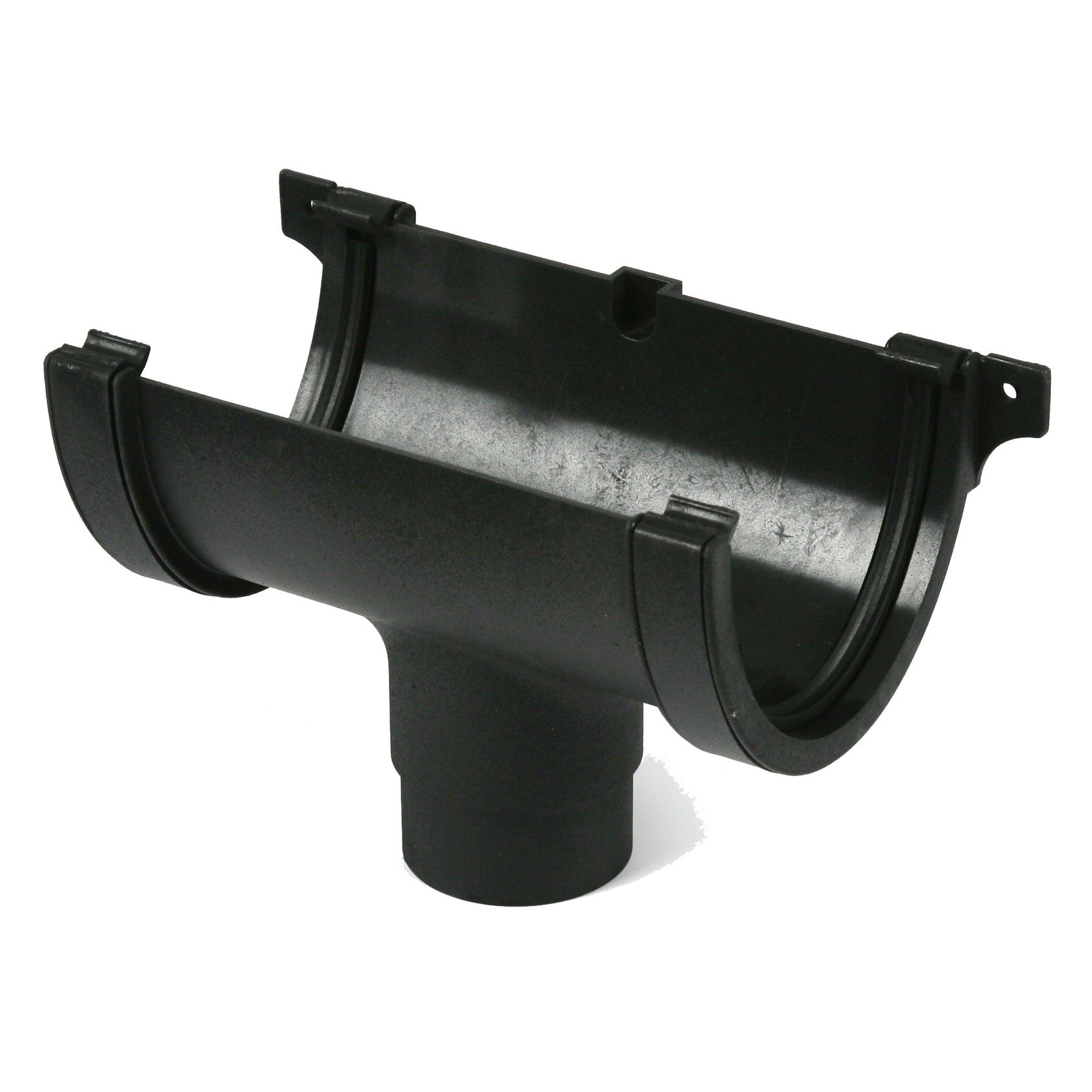 Deep Round Running Outlet (Cast Iron Effect) - Horizon Plastics Online