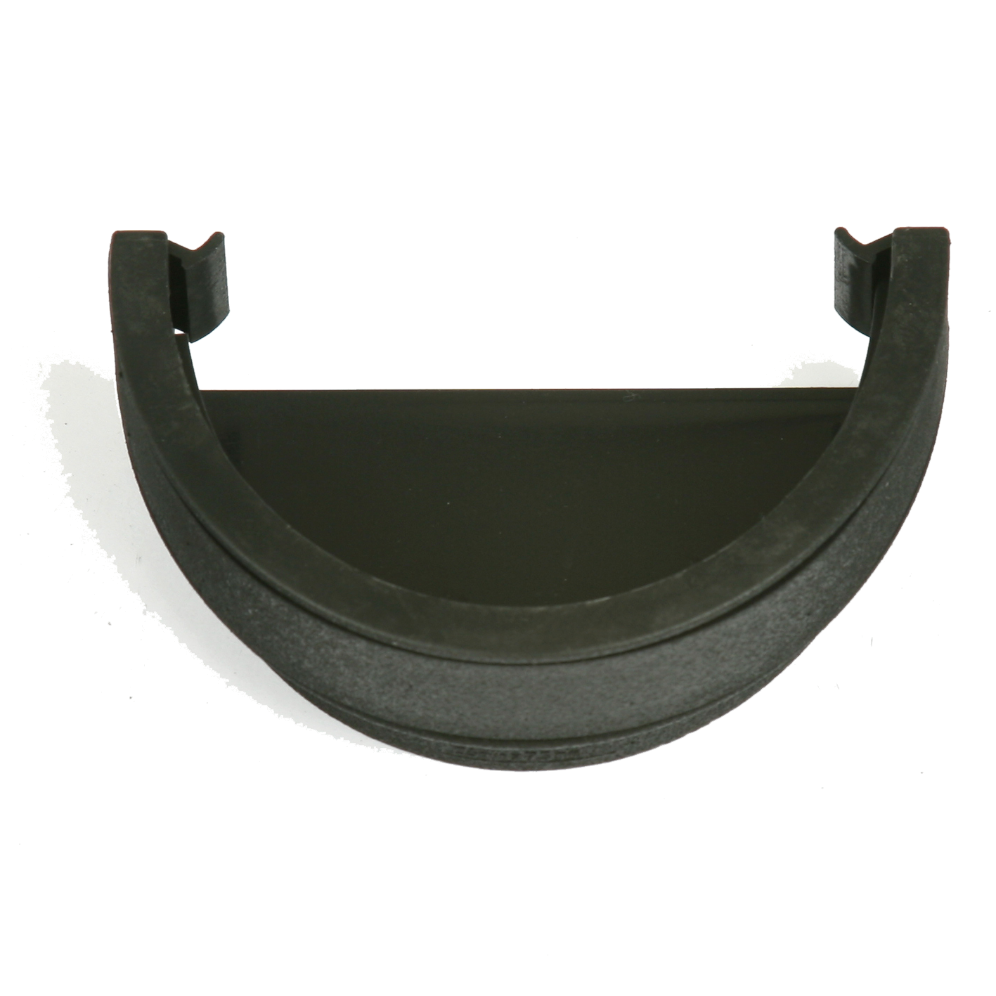 Deep Round External Stopend (Cast Iron Effect) - Horizon Plastics Online