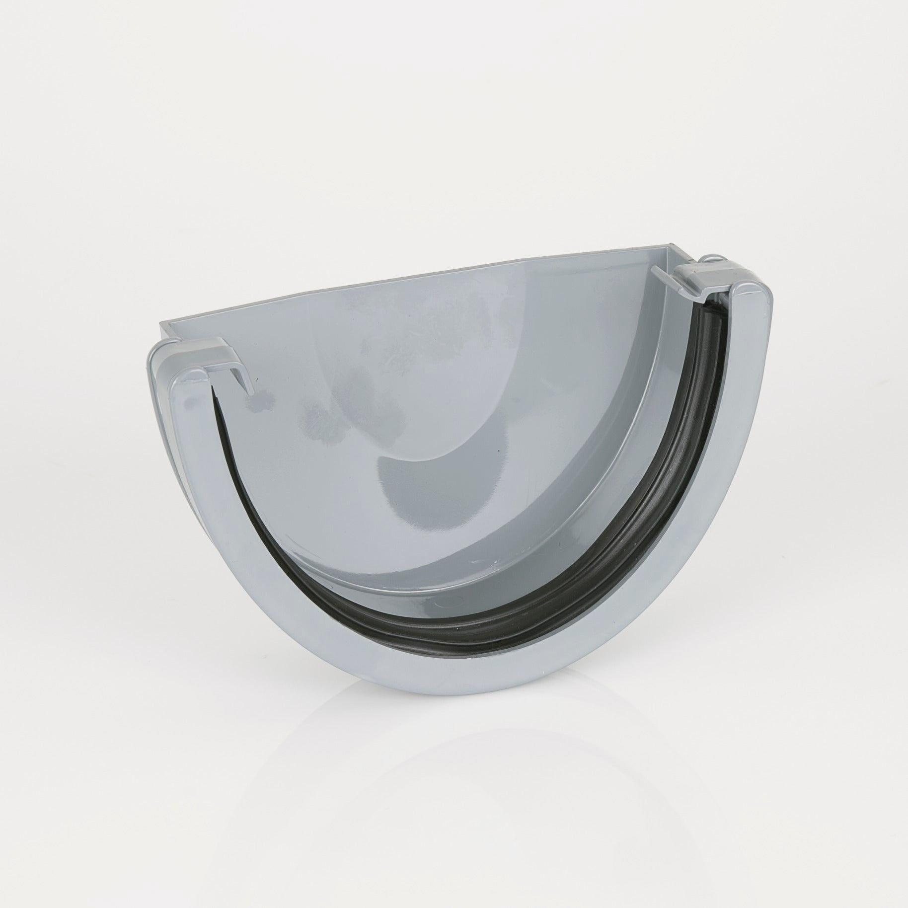 Industrial External Stopend (Grey) - Horizon Plastics Online