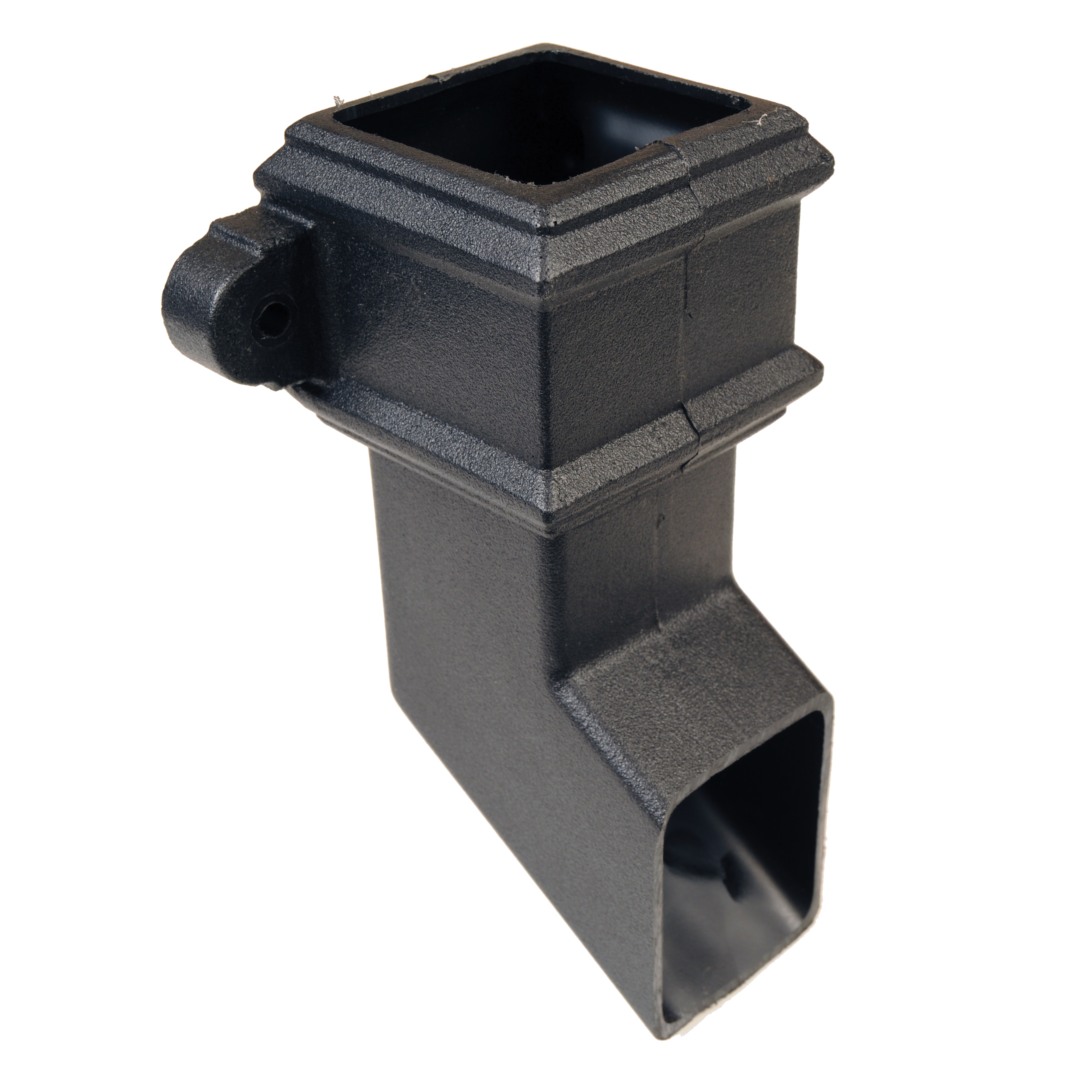 Square Shoe with Lugs (Cast Iron Effect) - Horizon Plastics Online