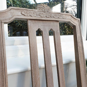 Pair of Gustavian Style Chairs - Oatmeal
