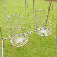 Load image into Gallery viewer, Two-Seater Garden Swing