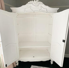 Load image into Gallery viewer, Double Armoire - Vintage White