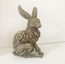Load image into Gallery viewer, Bronze Effect Hare