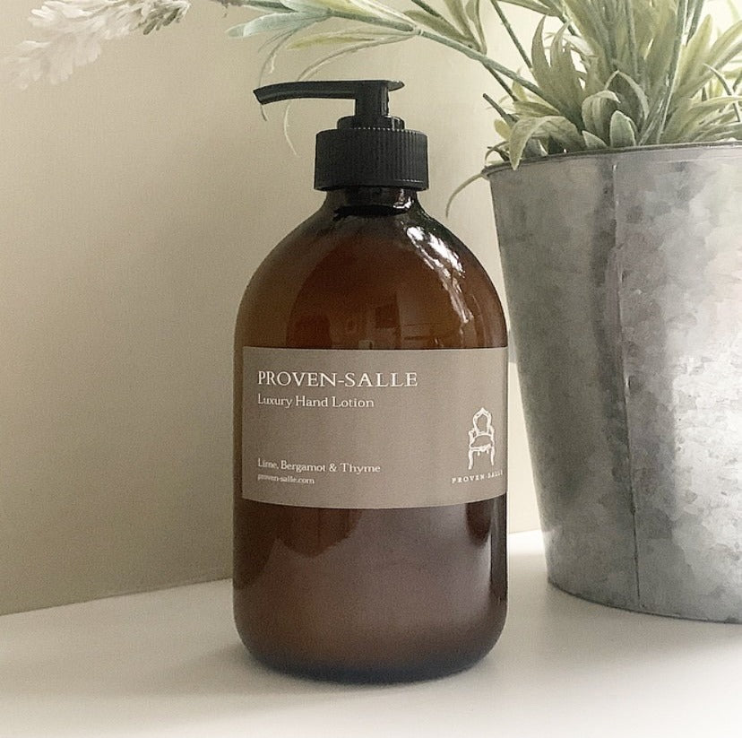 Lime, Bergamot and Thyme Luxury Hand Lotion - 500ml