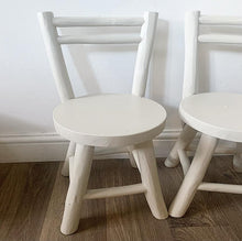 Load image into Gallery viewer, Pair of Children's Teak Chairs - Stony Ground