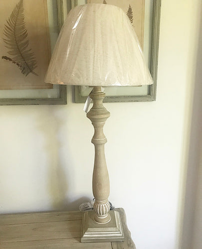 Washed Table Lamp With Shade - www.proven-salle.com