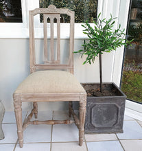 Load image into Gallery viewer, Pair of Gustavian Style Chairs - Oatmeal