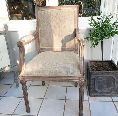 Marseille Armchair - Oatmeal - www.proven-salle.com