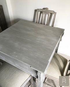 French Style Dining Table - Taupe