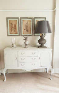 Ornate Sideboard - Old Flax