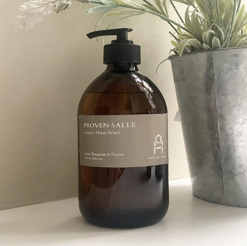 Lime, Bergamot and Thyme Luxury Hand Wash - 500ml