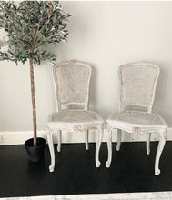 Load image into Gallery viewer, Pair of French Rattan Chairs - Paris Grey - www.proven-salle.com