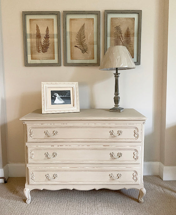 Chest of Drawers - Country Grey  - www.proven-salle.com