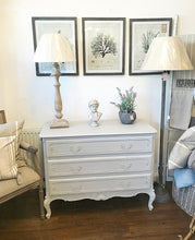 Load image into Gallery viewer, French Louis Style Chest of Drawers - Paris Grey
