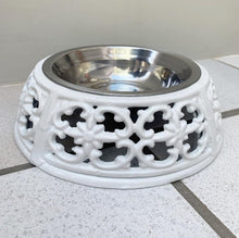 Load image into Gallery viewer, Pet Dish/ Bowl - White