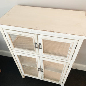 Rustic Cabinet - Off White