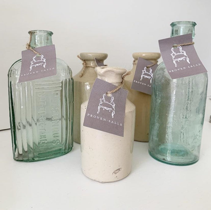 Selection of 5 Victorian Pots and Bottles