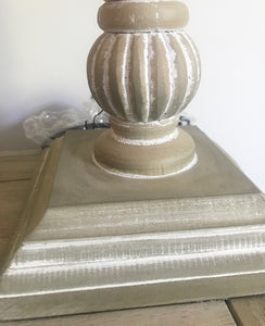 Washed Table Lamp With Shade