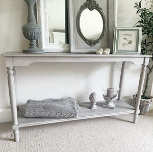 Console Table - Soft Grey