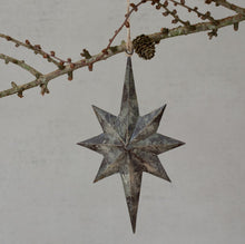 Load image into Gallery viewer, Vintage Style Star Decoration