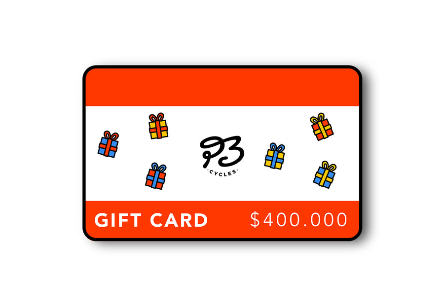 Gift Card $400.000 - P3 Cycles