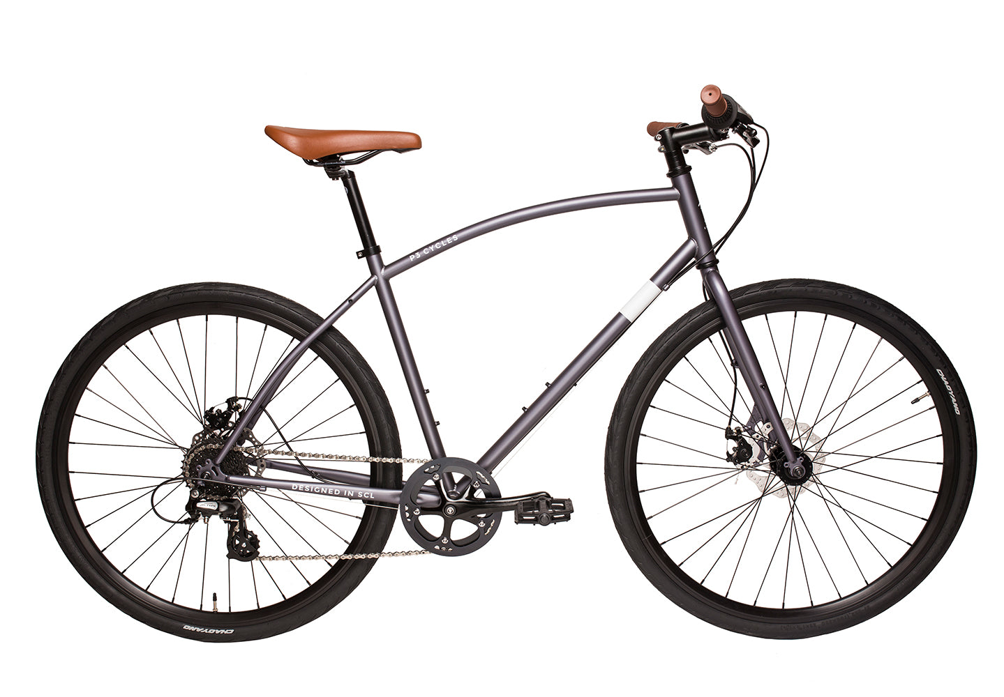 Hibrida Gris - P3 Cycles