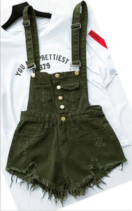 Hot Denim Playsuits