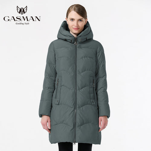 Winter Down Jacket Thick Hooded Coat