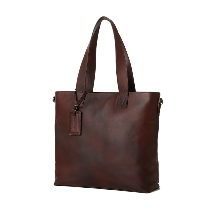 Antique Leather Tote - MOTHERHOUSE