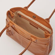 Leather A4 Box Tote