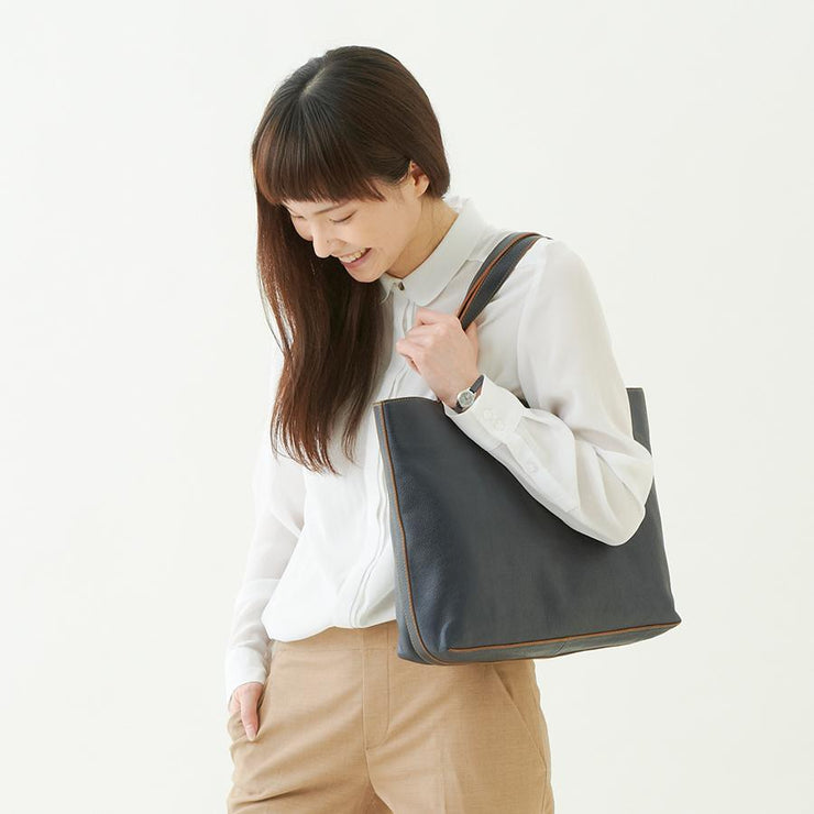 Edge Color H Tote - MOTHERHOUSE