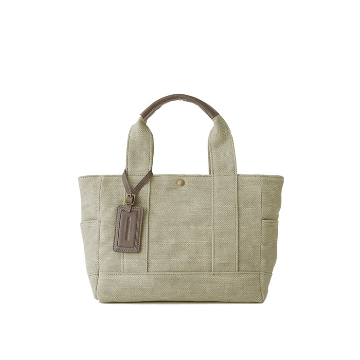 Washed Jute Lunch Bag