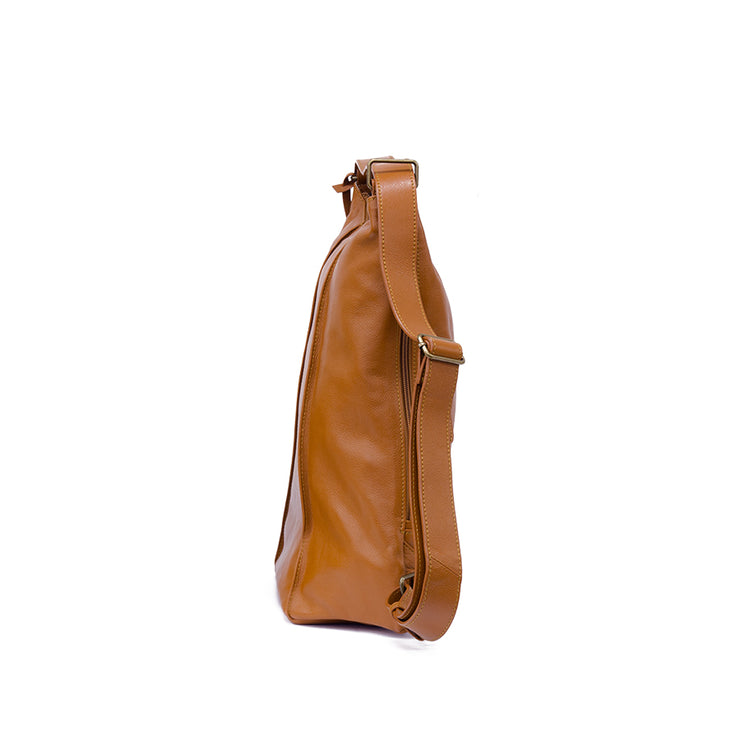 Leather 3 Way Backpack