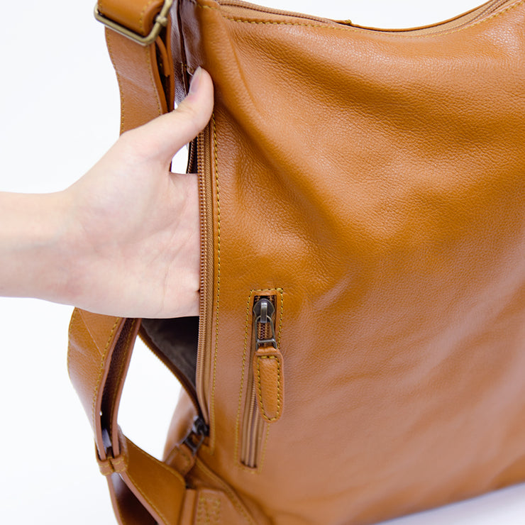 Leather 3 Way Backpack - MOTHERHOUSE