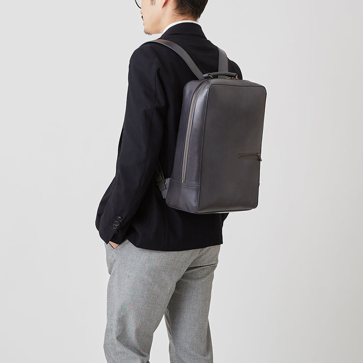 Antique Square Backpack - MOTHERHOUSE