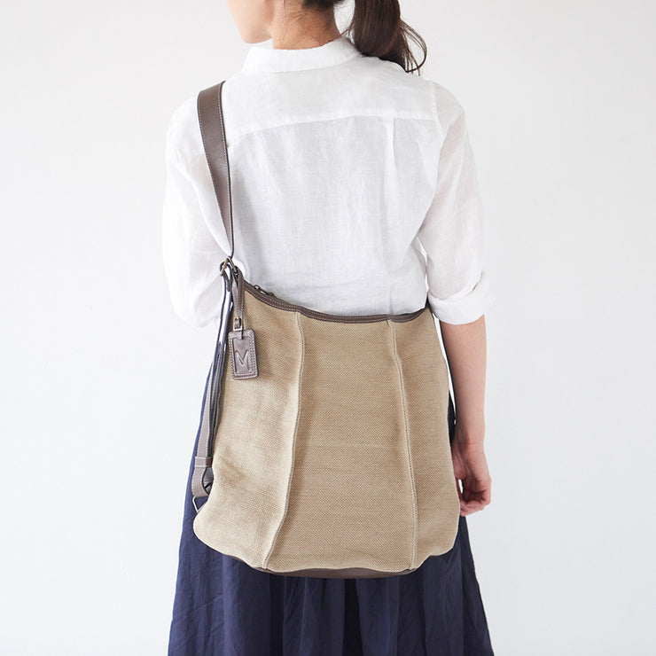 Washed Jute 3 Way Backpack