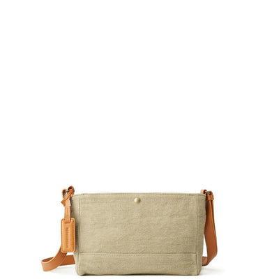 Washed Jute Small Shoulder - MOTHERHOUSE