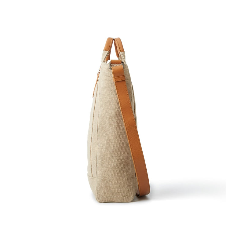 Washed Jute 2 Way Shoulder - MOTHERHOUSE