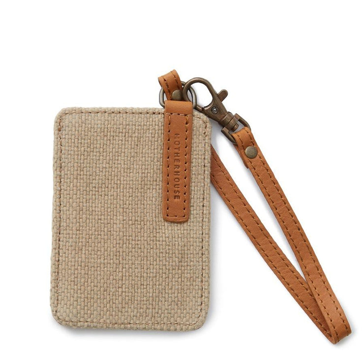 Double Pocket Pass Case - MOTHERHOUSE