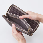 yoake Round Long Wallet - MOTHERHOUSE