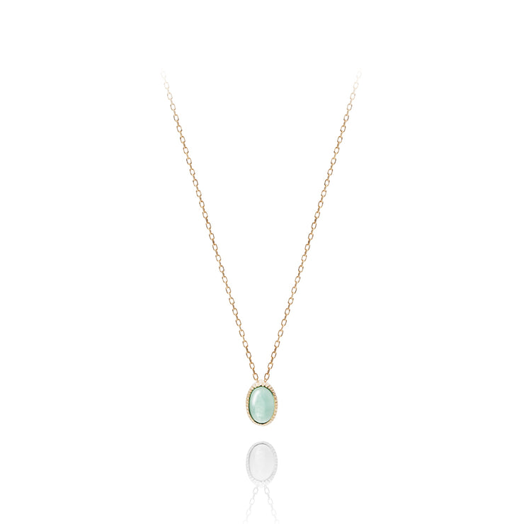 Sazanami oval Necklace - MOTHERHOUSE