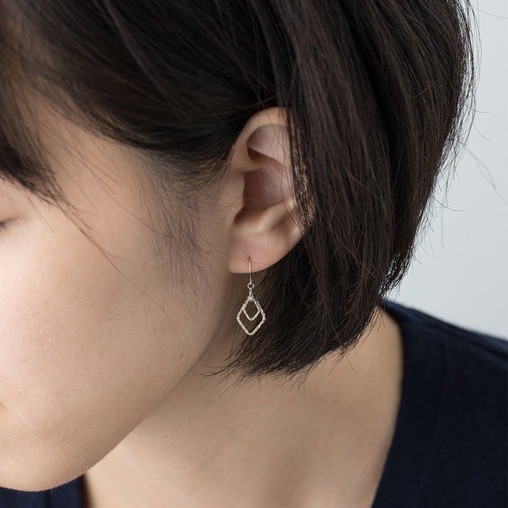 Kasaneishi Pierced Earrings - MOTHERHOUSE