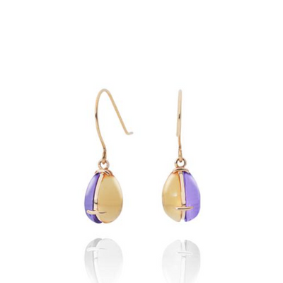 Day and Night Shizuku Petit Earrings - MOTHERHOUSE