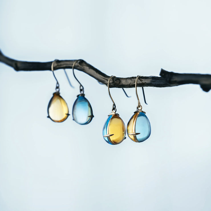 Day and Night Shizuku Earrings - MOTHERHOUSE